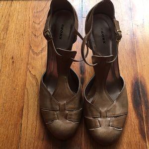 Cute t strap heels